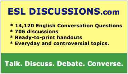 Conversation topics and questions